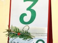 Номерки на стол N-12