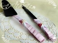 Приборы для торта № 01 (лопатка и нож)