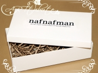 Коробка картонная для мужской бабочки № 01