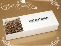 Коробка картонная-пенал для мужской бабочки № 02